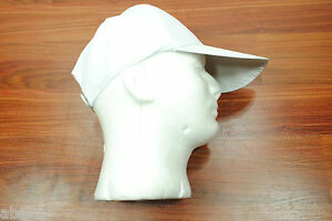 Baseball Cap/Hat Old School Vintage Classic - White