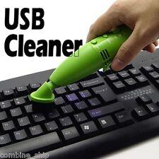 LED USB Mini Vacuum Dust Cleaner 4 Laptop Office Desk Camera Lens Keyboard Phone