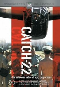 Catch 22 DVD 1970 War ANTI-WAR Satire Comedy Movie - Alan Arkin, Martin Balsam