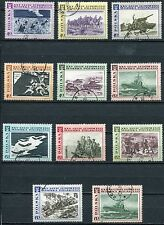 LOT TIMBRES POLSKA 25° ANNIVERSAIRE  ARMEE POPULAIRE