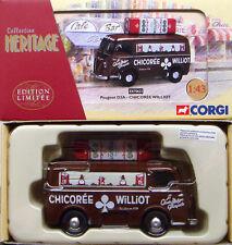 CORGI EX70633 FRENCH HERITAGE 1/43 Peugeot D3A Van Chicoree Willot