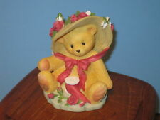 """Cherished Teddies Avon Janet """"You're Sweet as a Rose"""""""