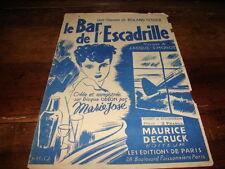MARIE JOSE - Partition LE BAR DE L'ESCADRILLE !!!!!!!!!!!!