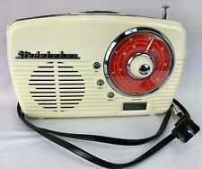 Studebaker Radio SB 2603CB Cream Orange Nostalgia Retro Mid Century Style 5.5x9