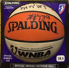 2001-02 WNBA Champions LA Sparks Whole Team Autographed Spalding Basketball New