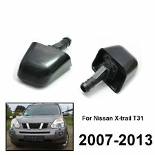 2Pcs Front Headlight Washer Jet Nozzle Set For Nissan X-Trail T31 2007-2013 2012