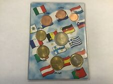 Estonia 2011 euro coins full set, from 1 cent to 2 euro, UNC
