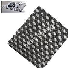 Coche flexible antideslizante antideslizante Mat Dash Teléfono Key Holder Negro