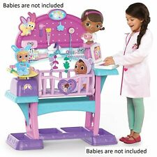 Just Play Doc McStuffins Baby All in One Nursery 3 Toy Mobile Doll Hospital Fun