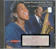 Sarah Vaughan & Lester Young, One Night Stand; 16 track CD