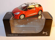 NOREV 3 INCHES 1/54 CITROEN DS3 2010 ROUGE ZEBRE IN BOX