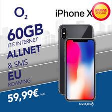 Apple iPhone X 64GB im o2 Free Handyvertrag inkl.60GB LTE nur 59,99€ monatlich