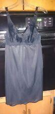 Warner'S 1960s Black Slip Dress Mini Slip Short Whole Slip 32 B Small