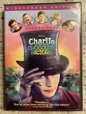 Charlie And The Chocolate Factory Dvd Preowned Johnny Depp Tim Burton Rare! Fun!