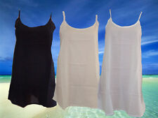 100% Cotton Short Slip. Bias Cut Petticoat. Undergarment. Sizes S, M, L, XL, XXL