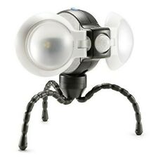 Weather Resistant Portable Double LED Light with Motion Sensor Security Light