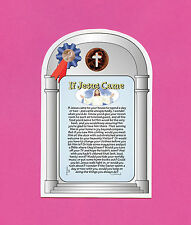 """""""If Jesus Came To Your House"""" Verse Card w/ Cross Penny - sku# 995"""