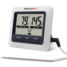 ThermoPro Digital Food Fleisch Kochen Thermometer für BBQ Grill Ofen Smoker