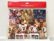 Tokyo Disney Resort New Draw cloth bag 3set 2016 Christmas snowsnow Mickey