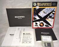 "1991 Megafortress IBM PC Game 3.5"" Disk Complete In Big Box!"