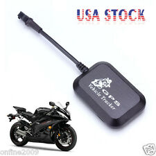 Mini Vehicle Motorcycle Bike GPS/GSM/GPRS Real Time Tracker Monitor Tracking US