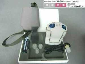 Panasonic Pocket Type Analog Hearing Aid One Side Ear Use WH-A 27 From Japan NEW