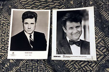2-for-1 JOHN LARROQUETTE 8x10 B/W PROMO PHOTO LOT NO. 1 Night Court Blind Date