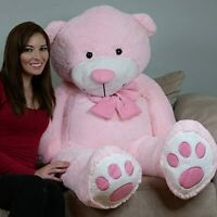 YesBears 60'' Big Huge GIANT TEDDY BEAR Stuffed Animal 2 Colors(Pillow Included)