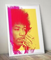Jimi Hendrix Pop Art Print, Hendrix Poster. Available in various sizes