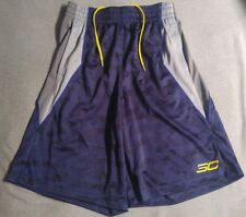 New Men's Under Armour SC30 Steph Curry Golden State Warriors Shorts ~ Sz. Small