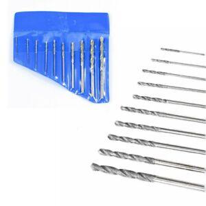 Diamond Tipped Drill Bit Set Twist Drill Bits For Glass Tile Stone 0.8-4.0mm