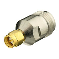 4pcs N Female Jack To SMA Male Straight RF Coax Connector Adapter For Wireless