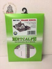 Metcalfe PN153 Village School Kit - N Gauge
