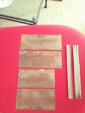 Original Vintage Metal Blanks Tokheim 36B Gaspump Bennett,Wayne GasPump Parts