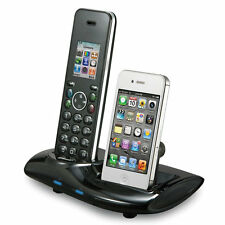 New Home Phone And iPhone Unifier iCreation I700 Bluetooth Cordless PhoneHandset