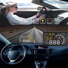 """Universal 5.5"""" Car HUD Head Up EU-OBD OBD2 Speed KM/h MPH RPM Display System"""