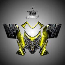 Polaris IQ RMK Shift Dragon Graphics Decal Wrap 2005-2012 Guardian Yellow