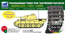 Bronco Model AB3541 1/35 Panther Early Type Workable Track Link Set