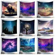Galaxy Starry Sky Hanging Wall Tapestry Beach Towel Blanket Home Bedroom Decor J