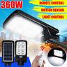 360W LED Solare Strada Luce Movimento Induzione Sensore Giardino Esterno Muro