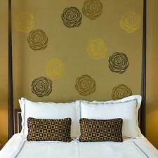 Rose Floral Wall Art Stencil - EXTRA SMALL - Floral DIY Wall Decor Stencils