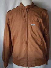 Trader Bay Members Only Style Men's Jacket Original 80's Aviator Bomber Large
