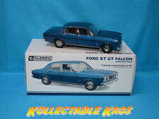 1 18 Ford XT GT Falcon Starlight Blue Classic Carlectables18627