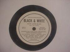 "1944 BARNEY BIGARD 12"" BLACK & WHITE JAZZ 78 PROMO - How Long Blues"