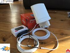 Sistema Wifi 4G Huawei E5577C y antena externa-Motorhomes Caravanas