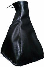 Black Car Van Gear Stick Knob Leather Look Cover Gaiter Shift