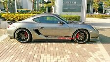 Carbon Fiber Side Skirt Extensions Add-on for Porsche Boxster Cayman 987 05-12