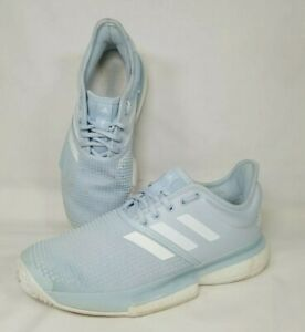 Adidas SoleCourt Boost Parley Tennis Shoes EG7694 women's size 7.5
