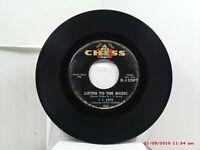 J.C. DAVIS feat. LITTLE CHARLES-(45)-DJ COPY-LISTEN TO THE MUSIC / FEZNECKY-1964