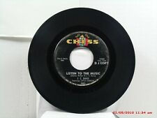 J.C. DAVIS feat. LITTLE CHARLES-(45)-DJ COPY-LISTEN TO THE MUSIC / FEZNECKY-1964